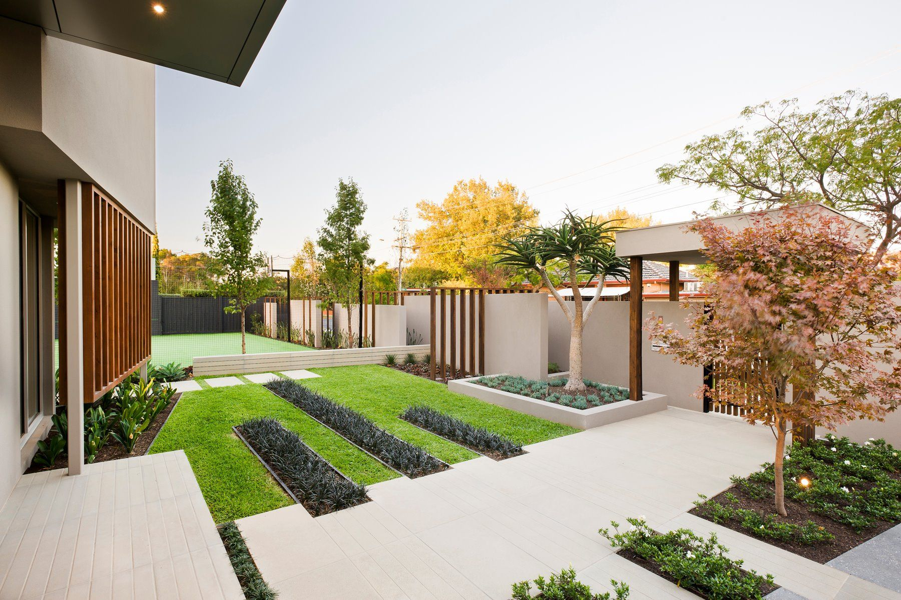 Modern Front Garden Inspiring Outdoor Living By Esjay Landscapes