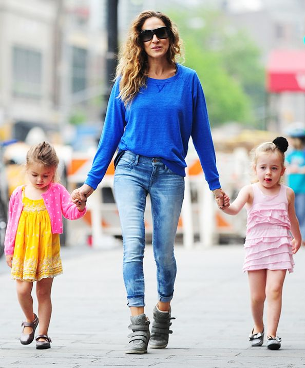 Double Trouble! SJP's Adorable Twins are Just as Stylish as Mom  #InStyle