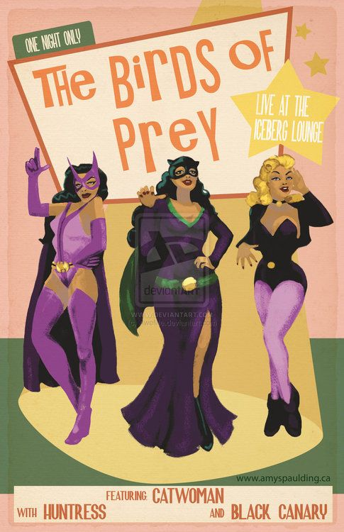 Birds Of Prey Featuring Catwoman By Aweme Catwoman Birds Of