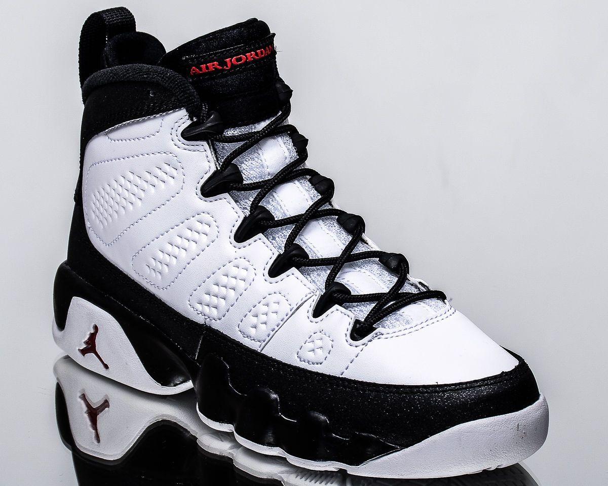86efa3849cc8 Air Jordan 9 Retro BG Space Jam IX youth sneakers NEW white black red  302359-