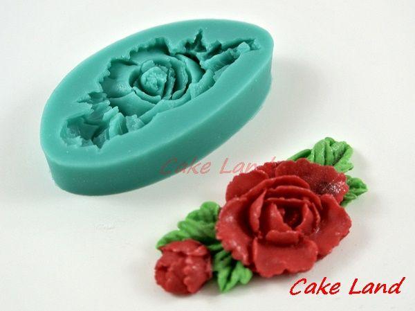Forma Silikonowa Roza Roze Kwiat Tort Ciasto Cake Land Cake Silicone Molds
