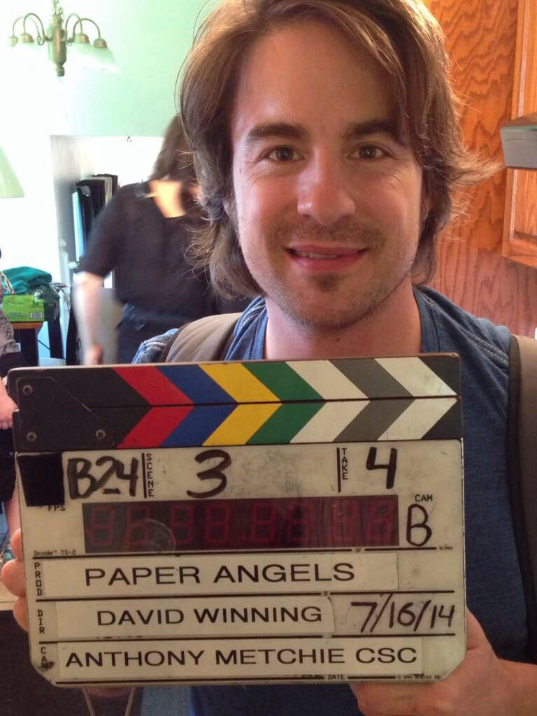 Jimmy Waynes Paper Angels Movie Filming Now It Will Be Released For The Christmas Season