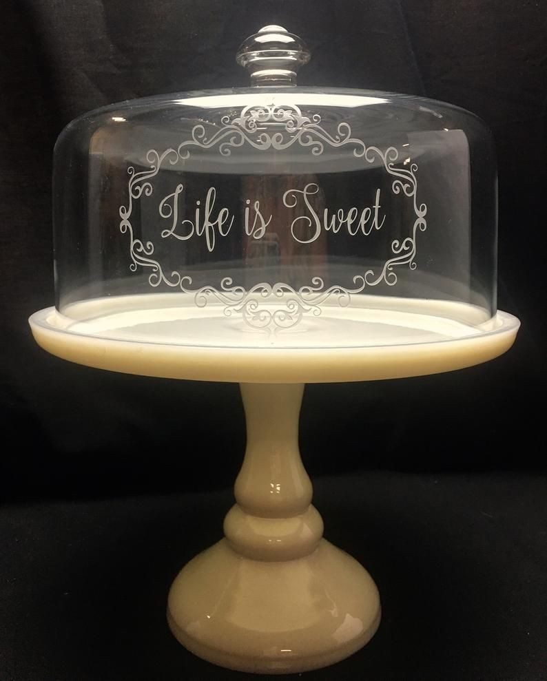 Cake stand cake plate glass cakestand cake stand and cover