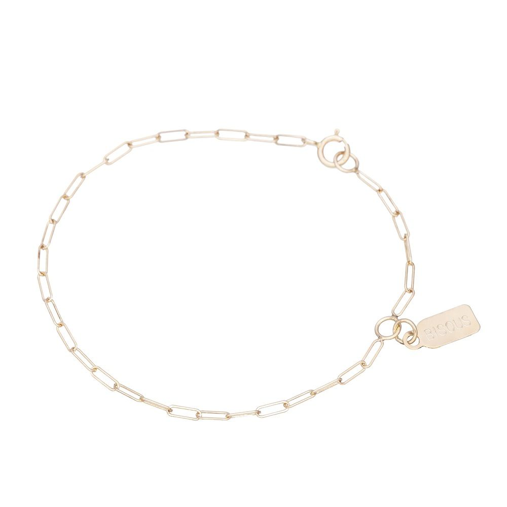 Single Tag bracelet-Chain Each Other / Hortense Jewelry