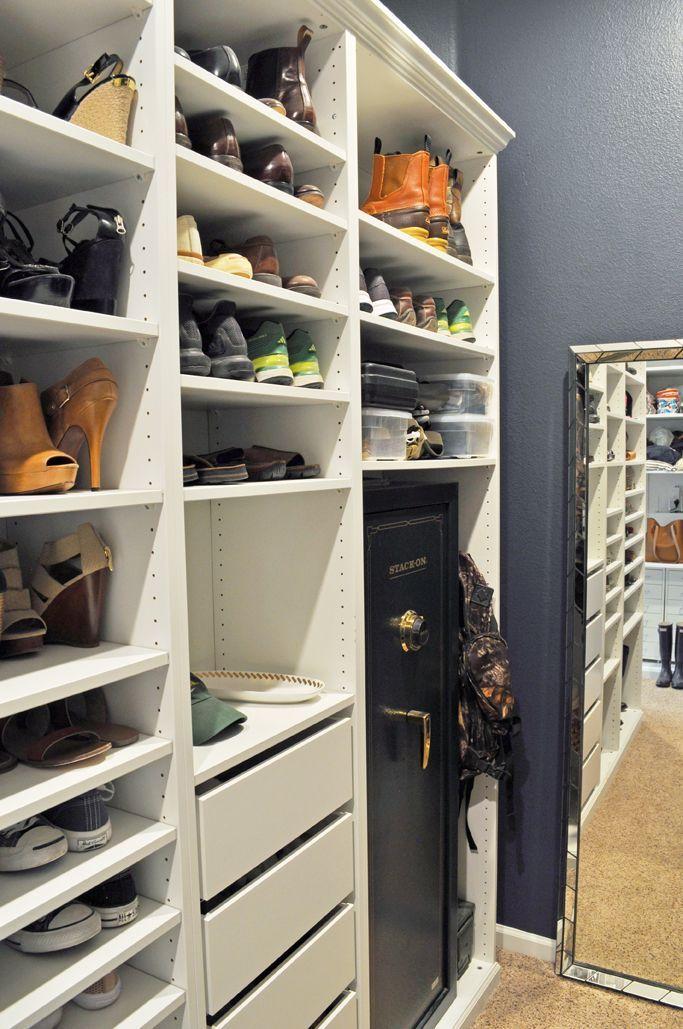 IKEA Pax Built In Master Closet Reveal! Master closet