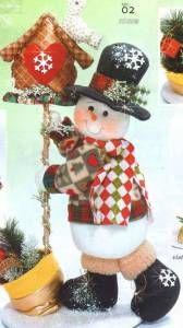 nieve correo navideño 50