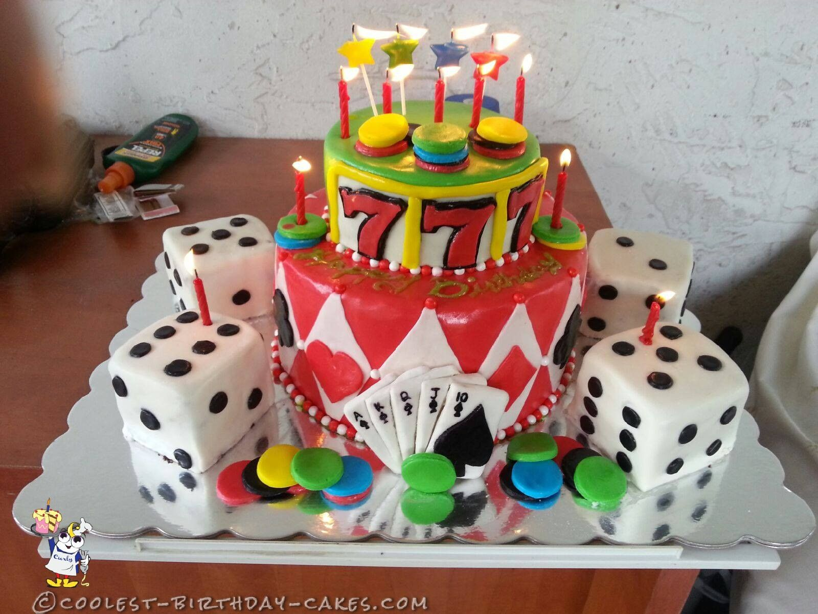 My Fabulous Las Vegas Birthday Cake... Coolest Birthday Cake Ideas