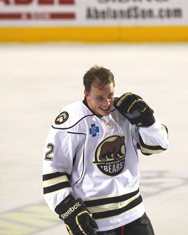Nate Schmidt Hershey Bears By Tori Hartman Hershey Bears Hockey Boards Sports Team