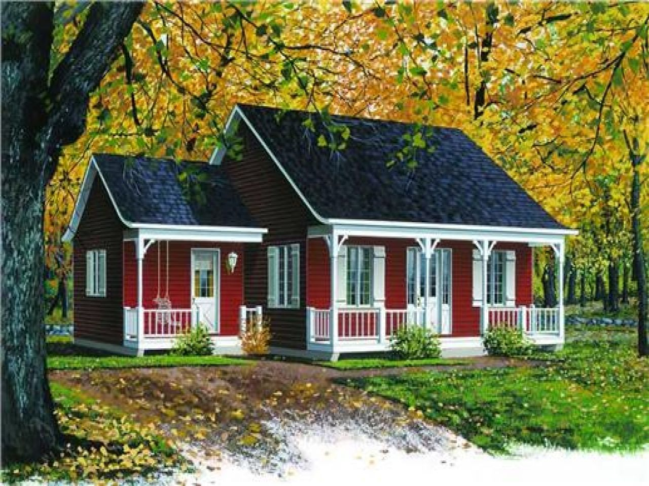 Image result for tiny farmhouse tiny home b b Island cottage house plans