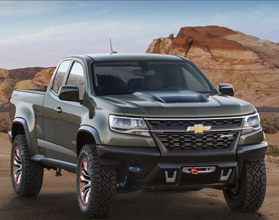 Chevrolet Colorado Zr2 Concept Chevrolet Colorado Chevy