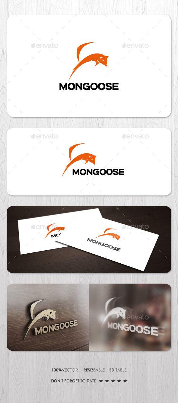 Mongoose Logo Design Template Vector #logotype Download it here: http://graphicriver.net/item/mongoose/12033959?s_rank=639?ref=nesto