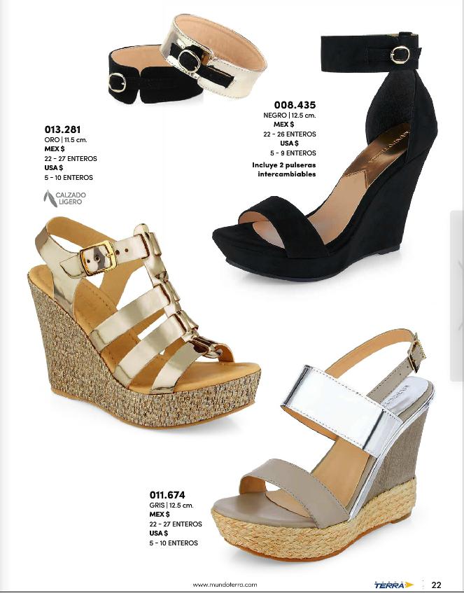 Zapatos de plataforma para mujer de Mundo Terra 2017 2f880498cfd09
