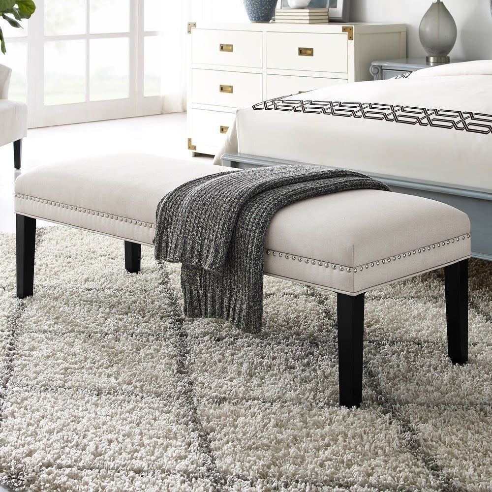 Overstock Com Online Shopping Bedding Furniture Electronics Jewelry Clothing More Upholstered Bench Upholstered Bench Seat End Of Bed Bench