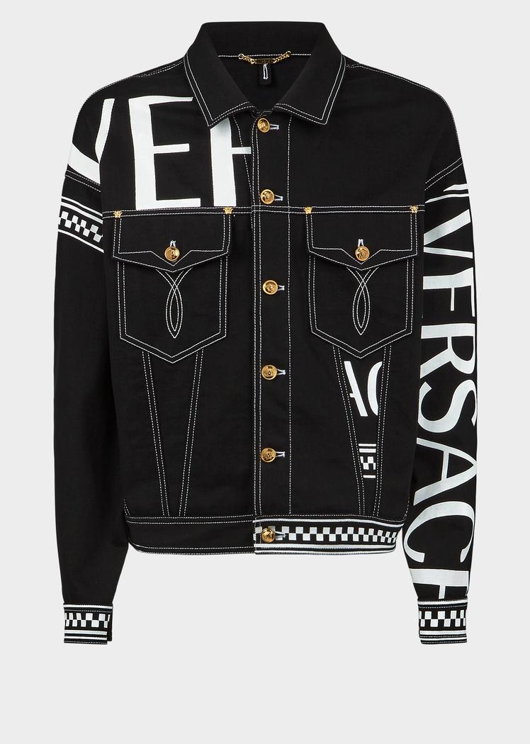 d1d454edad 90s Vintage Logo Denim Jacket for Men   Online Store EU ekkor: 2019 ...