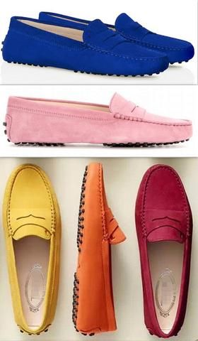 Tod's Gommino Suede Loafers - (Various colors to choose from)