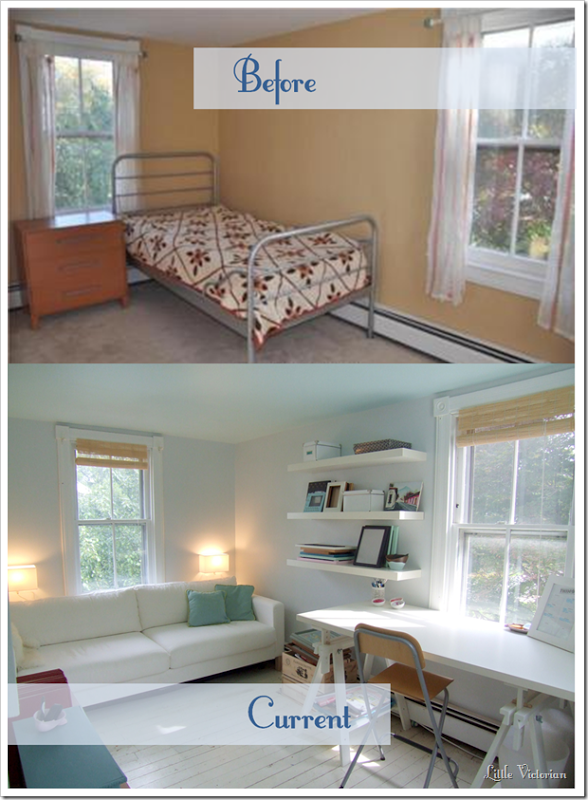 Our Small Office Guest Room Makeover Is Complete Almost Guest Room Office Guest Bedroom Office Guest Room Office Combo