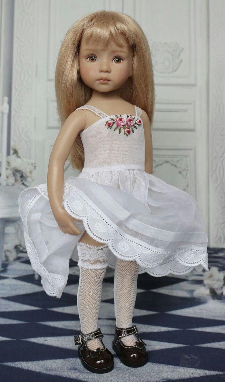 Pin de paty caceres en muñequeria | Pinterest | Muñecas, Vestidos ...