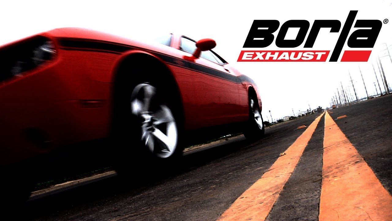 BORLA Exhaust Sound Options for the 2009 - 2014 Dodge Challenger RT