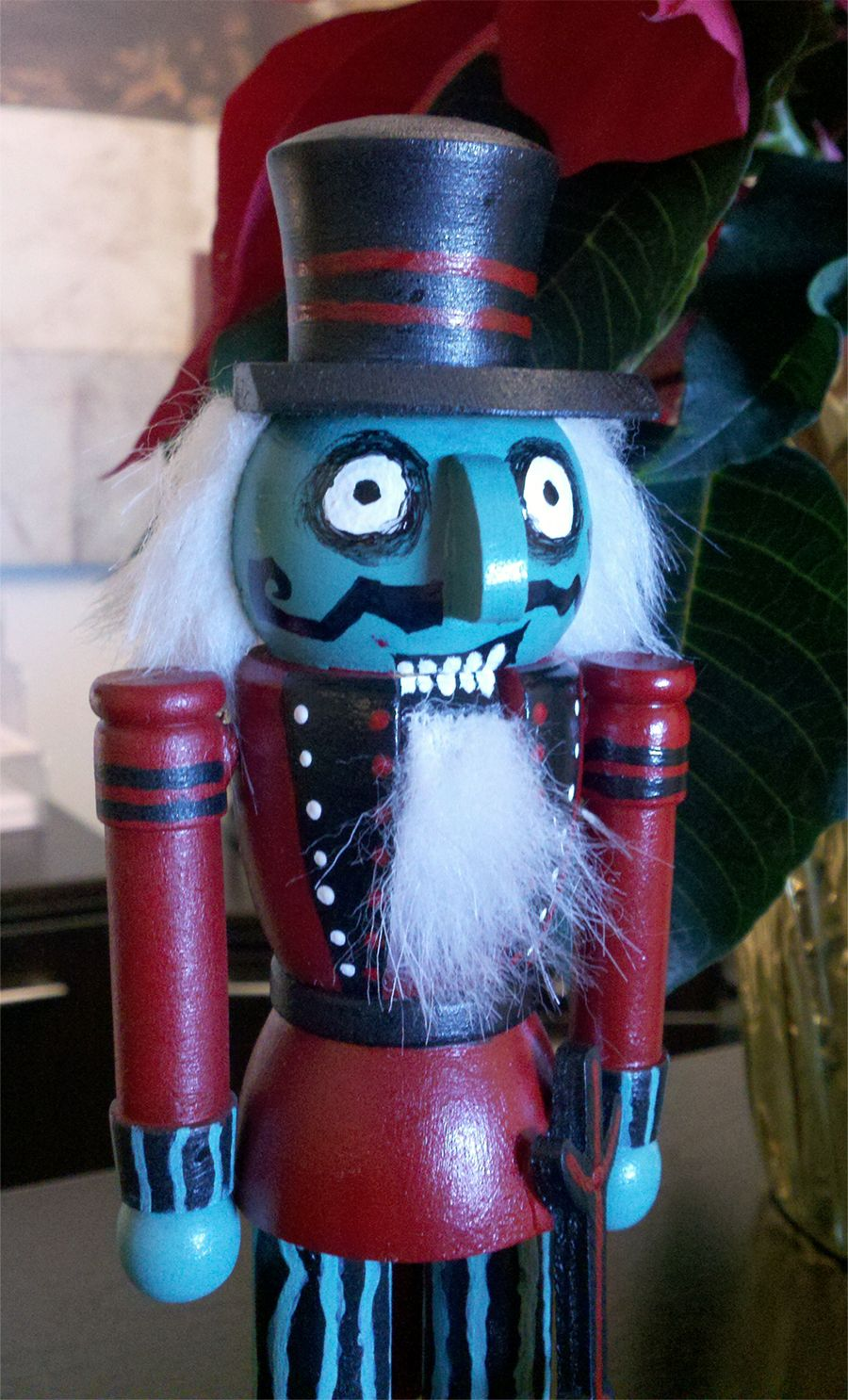 nutcracker from disneylands haunted mansion nightmare before christmas - Nightmare Before Christmas Nutcracker