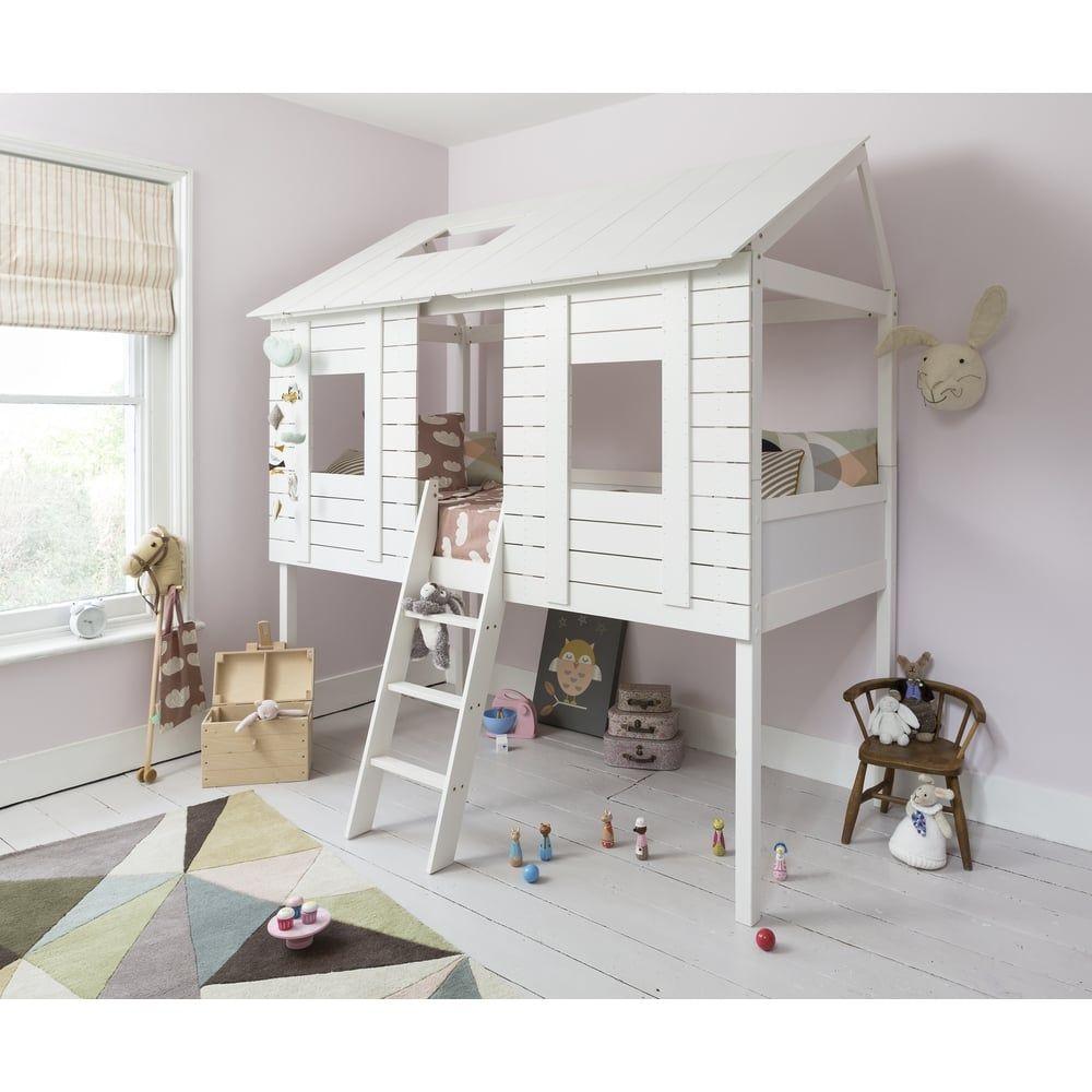 Baumhaus Bett (Hausbett) fürs Kinderzimmer: Das Christopher ...