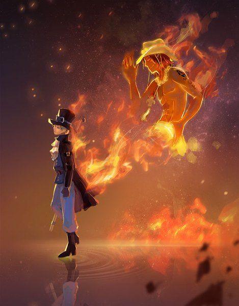 Anime pictureone piece toei animation portgas d ace sabo (one piece) dywx poison single 626x800464911en