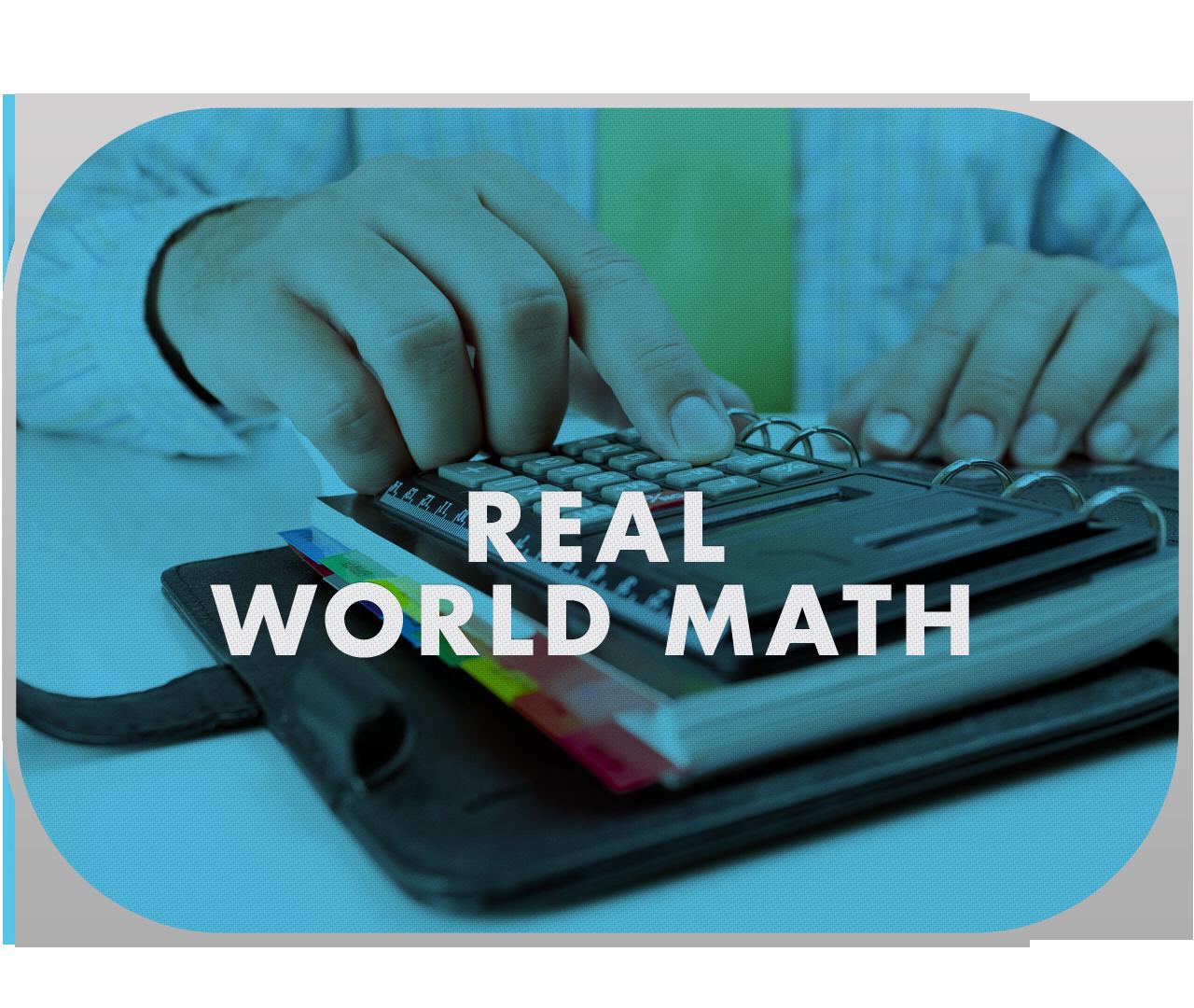 Real World Math #mathintherealworld