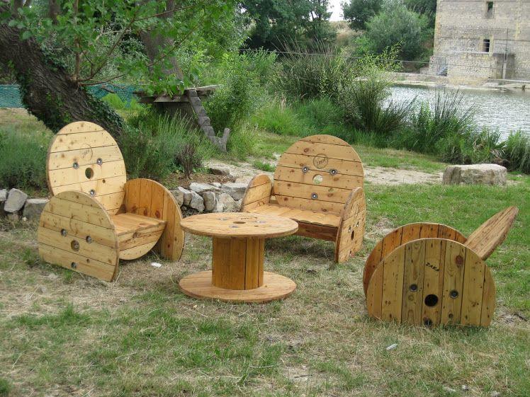 Meuble Avec Touret. Best Le Touret Table De Jardin With Meuble Avec ...