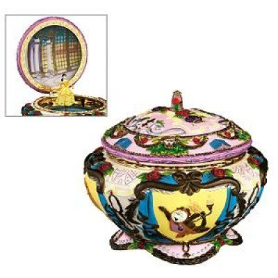Belle musical jewelry box Disney Princess and Animated Heroines