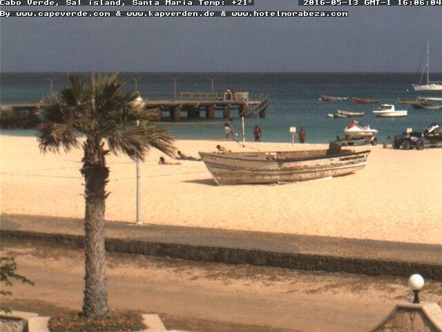 Cape Verde, Sal, Santa Maria - Beach, PontaoZoom