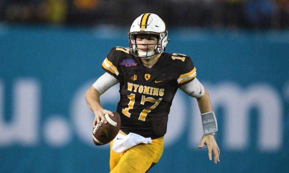 Josh Allen Draft Profile Football, College football
