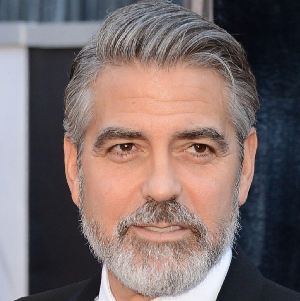 short haircut men grey hair
