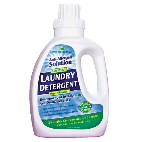 Anti Allergen Laundry Detergent From The Ecology Works 40oz The