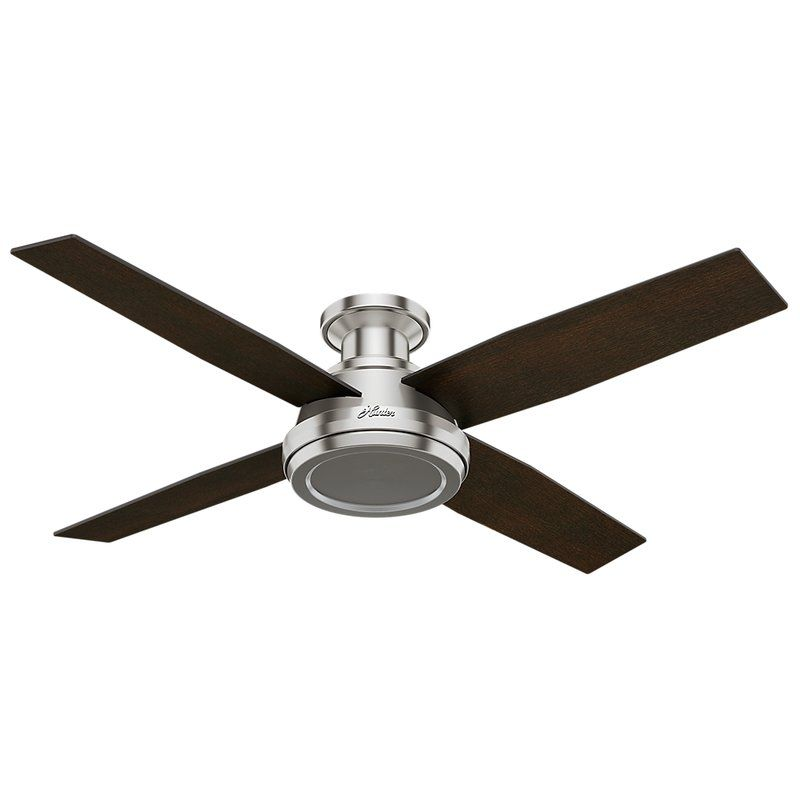 52 Dempsey 4 Blade Ceiling Fan With Remote With Images Ceiling Fan Ceiling Fan With Remote Ceiling Fan With Light