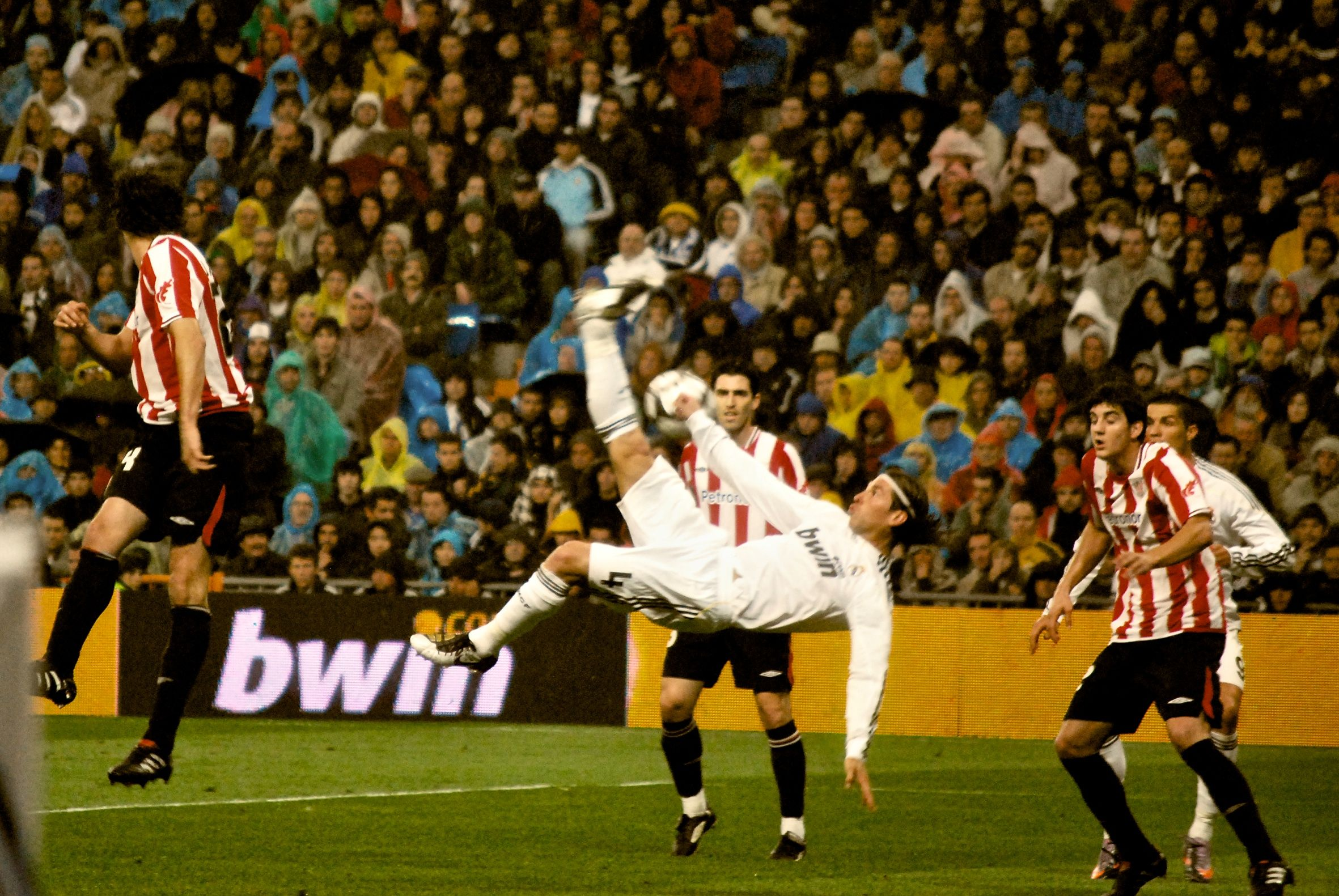Bicycle Kick A Graceful And Athletic Move Not Often Seen In