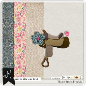FREE These Boots Freebie by Meredith Cardall Designs