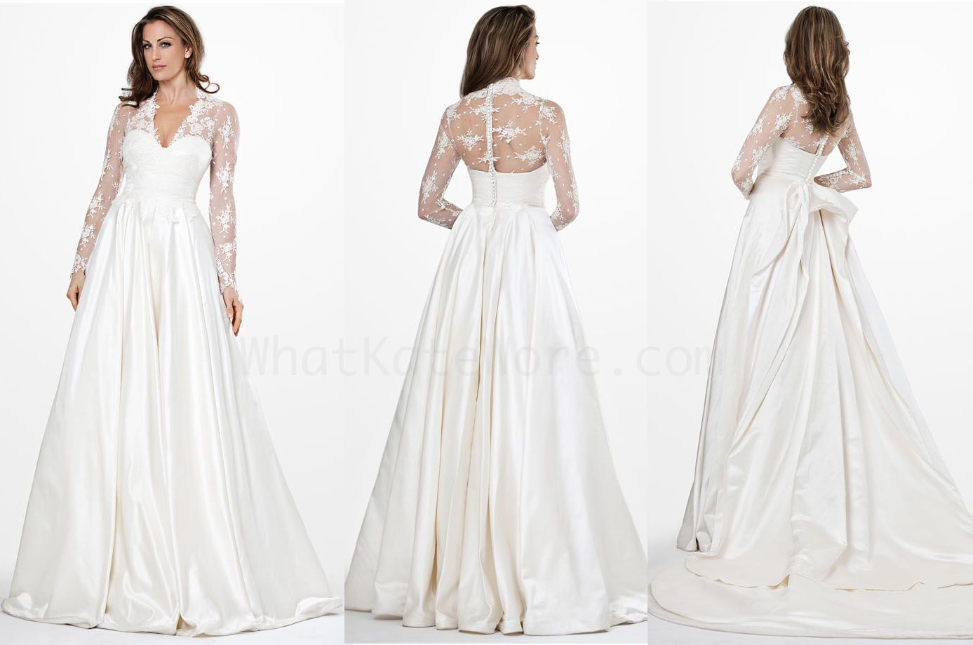 Princess Kate Royal Wedding Dress YouTube #22987 | theweddingplans ...