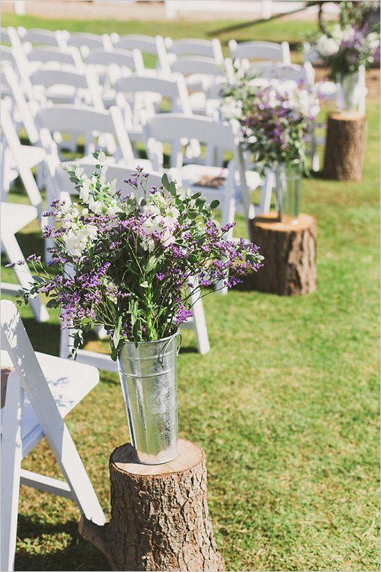 Outdoor Rustic Wedding Decor