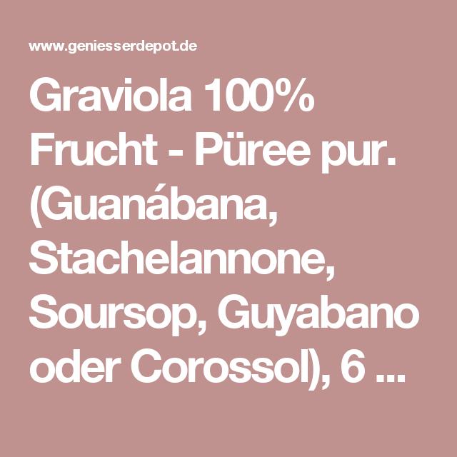 Graviola ist gut zum Abnehmen