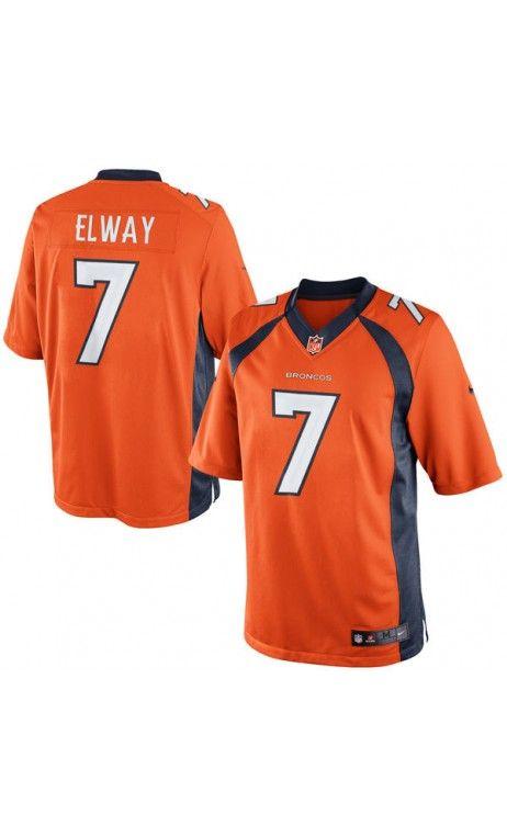 8ac41f5a9 NFL Men's John Elway Orange Denver #Broncos Retired Player Limited Jersey  #sportsjersey