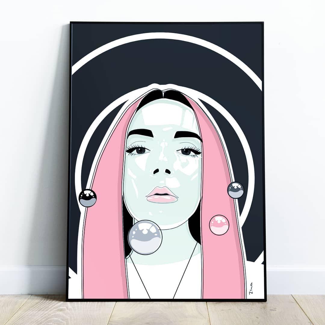 Girl_with_pink_hair #zinakazantseva #postcardart #portraitdraw #pinklips #pinkha... ,  #artline #artprint #galleryofart #Girlwithpinkhairzinakazantseva #graphicillustration #homedecorationideas #homegallery #Illustrations #illustratorart #lineillustration #pictureart #pinkha #pinkhaircolor #pinkhairs #pinklips #portrait_mood #portraitdraw #portraitphotography #Postcard #postcardart #postcardart #posterart #tattoogirl #tattoomodel #tattoosketch #zinakazantseva