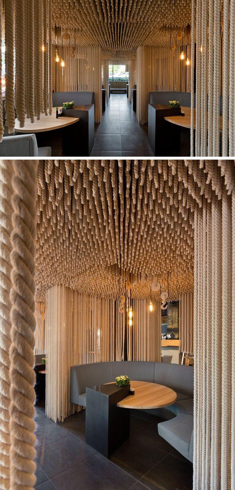15 Creative Ideas For Room Dividers Restaurant Interior Design Restaurant Interior Interior Architecture Design