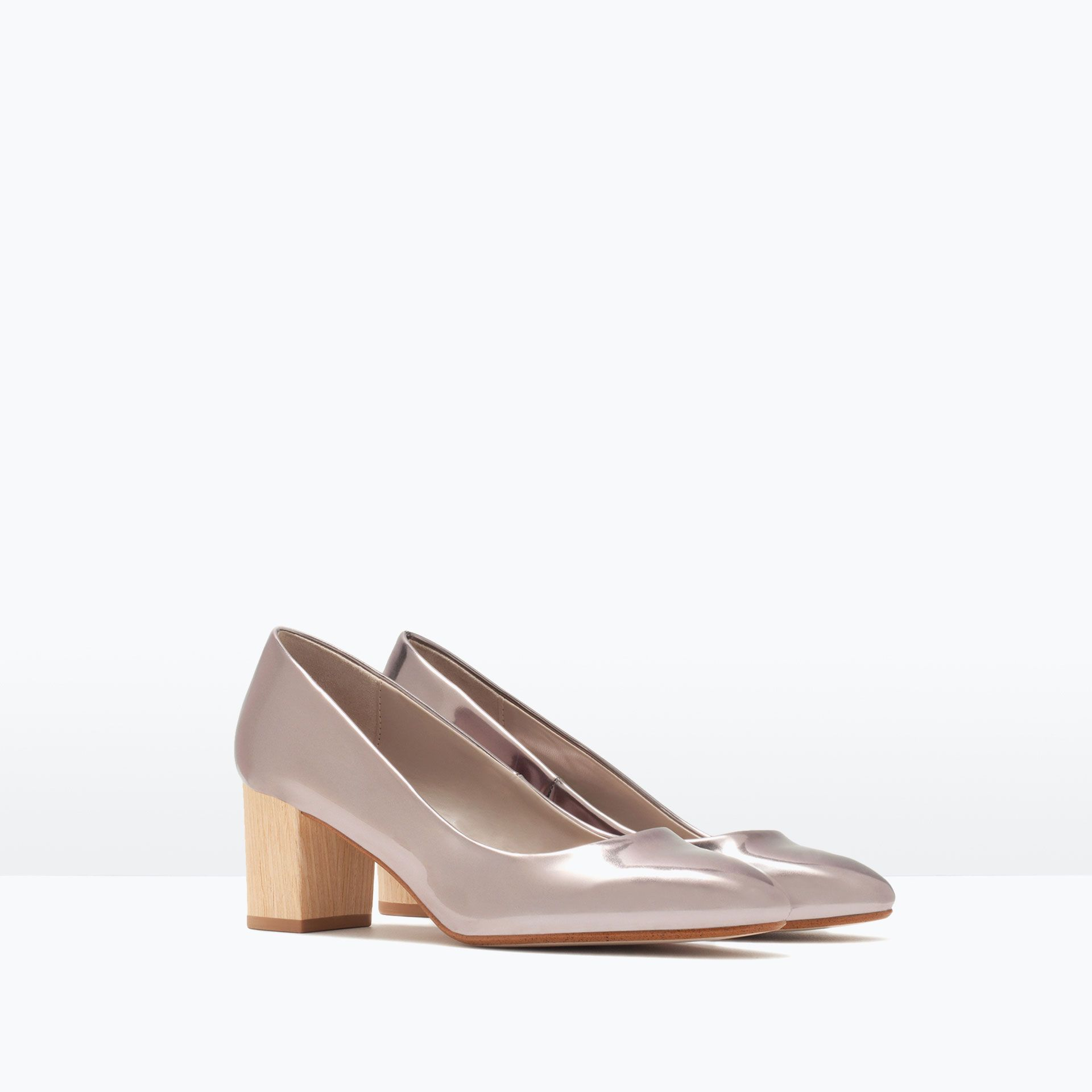 ZARA - SHOES & BAGS - SHINY COURT SHOES