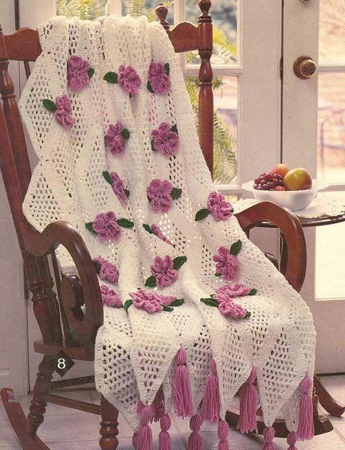 Trellis rose afghan crochet pattern pdf afghan crochet afghans trellis rose afghan crochet pattern pa809 on etsy 499 dt1010fo