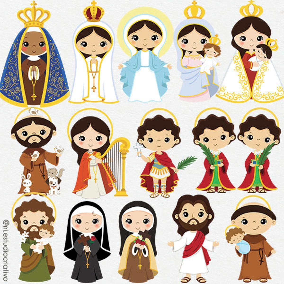16 Santinhos Com Imagens Imagens Religiosas Desenho Religioso