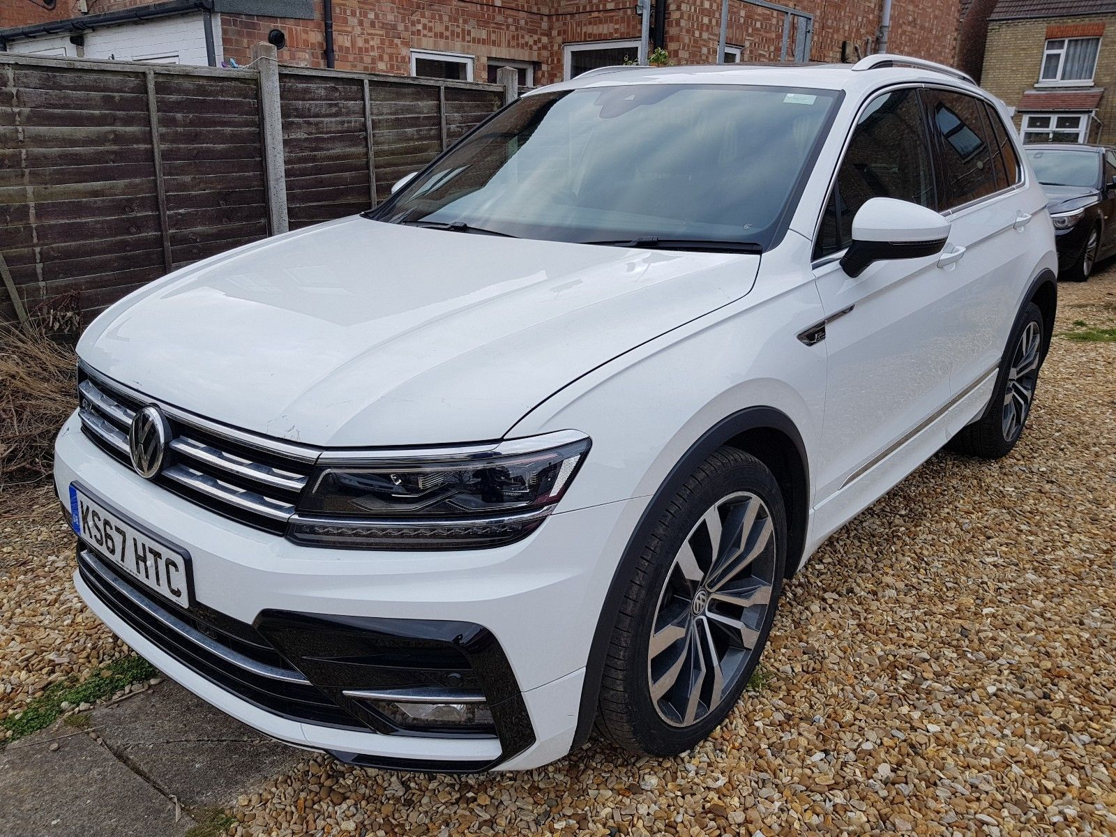 Ebay 2017 Vw Tiguan 2 0 Tdi R Line 4motion Dsg Sel Very Light Damage Unrecorded Carparts Carrepair