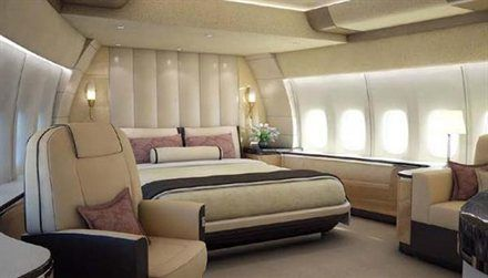 Private Luxury Boeing 747 8