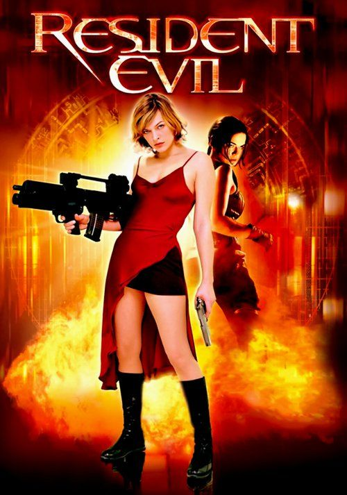 Image result for resident evil 2002 movie poster