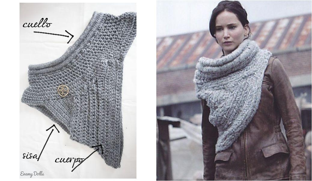 Chal de Katniss: Las claves para hacer nuestros propio diseño ...