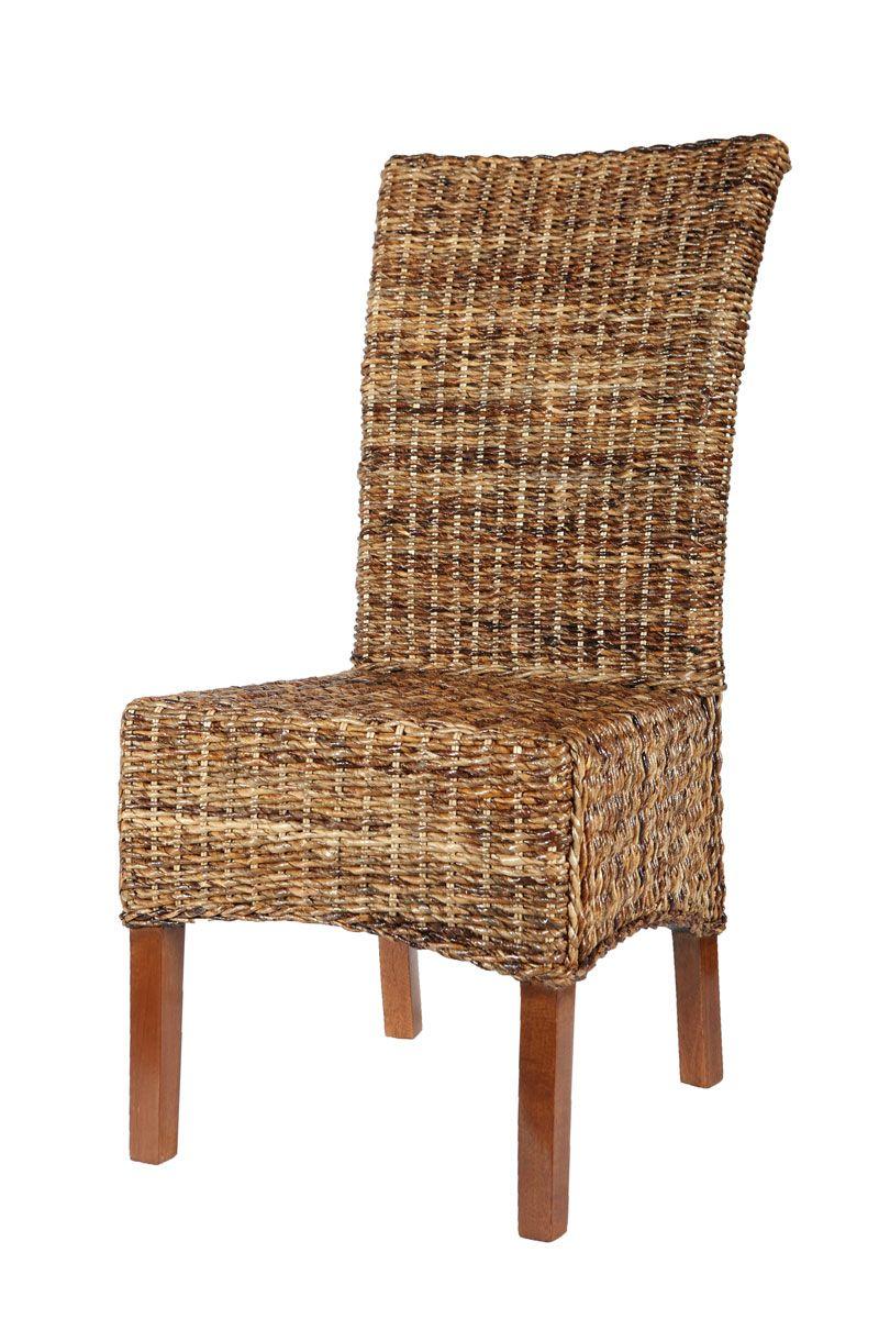Chaise En Abaca Naturel Pour Salle A Manger Chaise En Abaca Naturel Elips Chaise Rotin Rotin Design Meuble Rotin