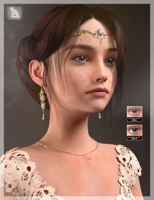 Princess Leila For Genesis 3 Female S Models Poser And Daz Studio